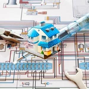 проект электрики частного дома